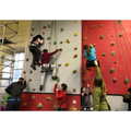81. Climbing wall
