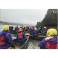 10. Having great fun canoeing