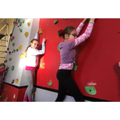 47. Climbing wall