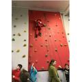 80. Climbing wall