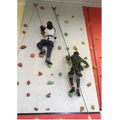 50. Climbing wall