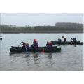 15. Having great fun canoeing