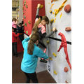 61. Climbing wall