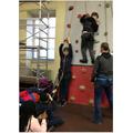 82. Climbing wall