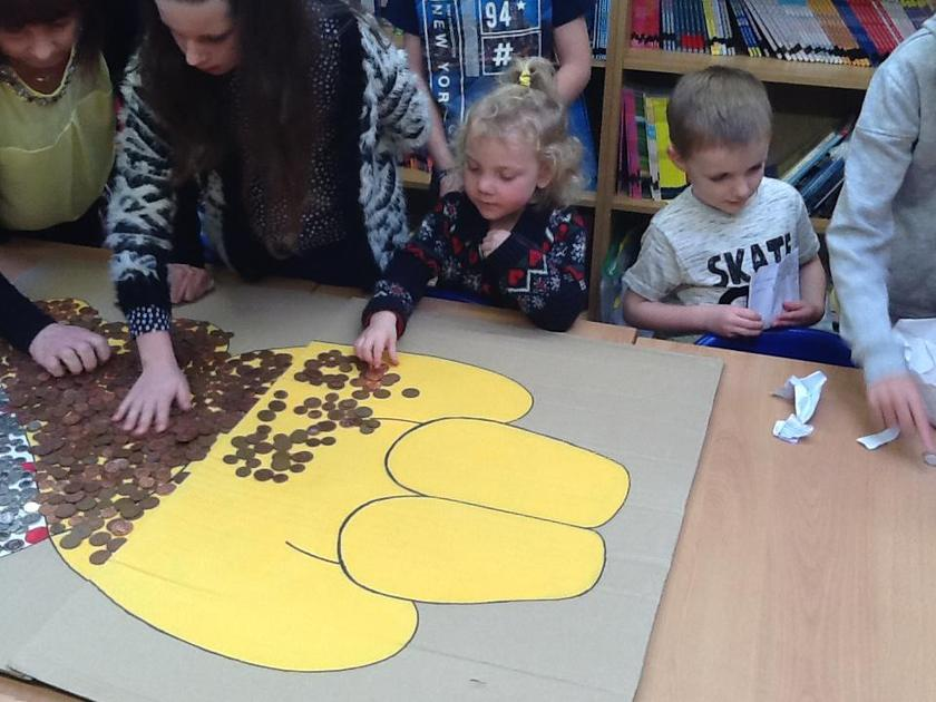 Lets fill up Pudsey with coins