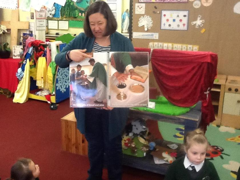 We shared our Big Mass book