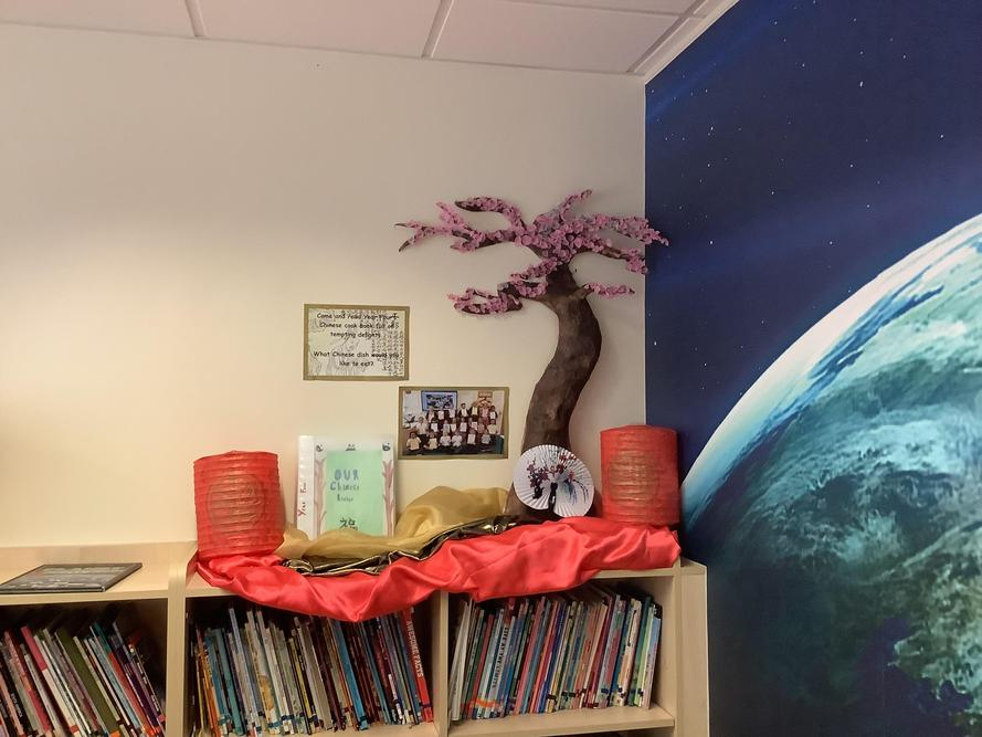 We have displayed our fantastic poems in our Reading Room for other children to read.