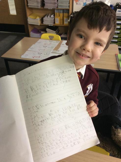 Roman's impressive topic work