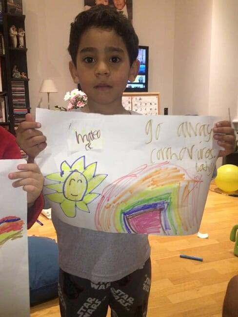 Mateo CR's hope message against Covid