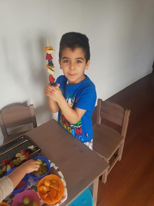 Yousef's fruit kebab pattern