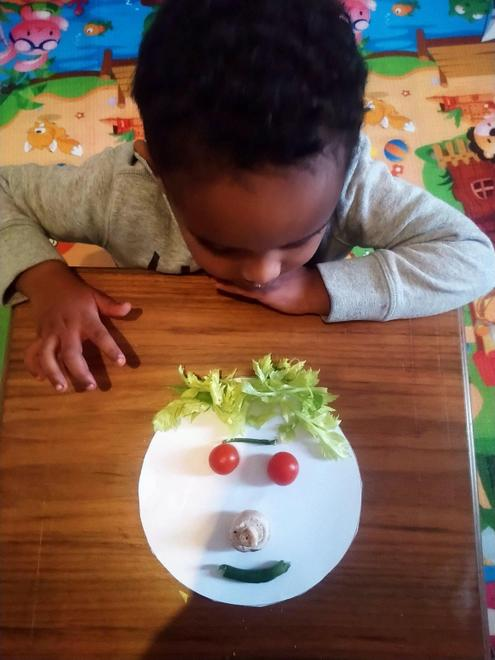 Jonathan's vegetable face