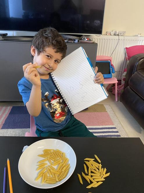 George's pasta subtraction