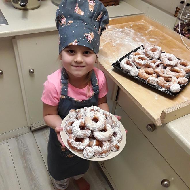 Jagoda's Fat Thursday donuts