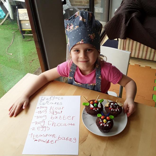 Jagoda's Gruffalo cupcakes and recipe