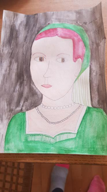 Lizzie Tudor portrait