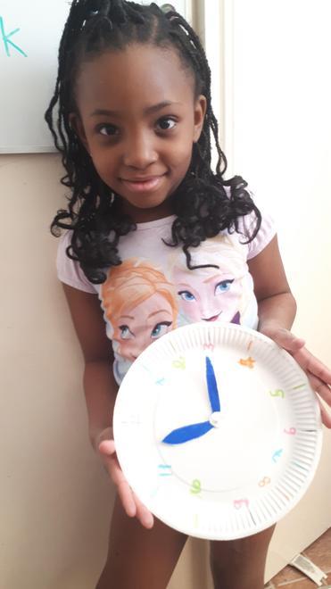 Ella A's clock