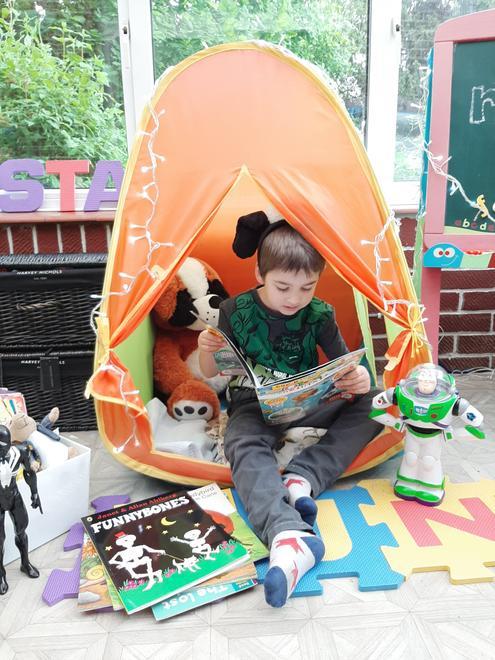 Stanley's reading den