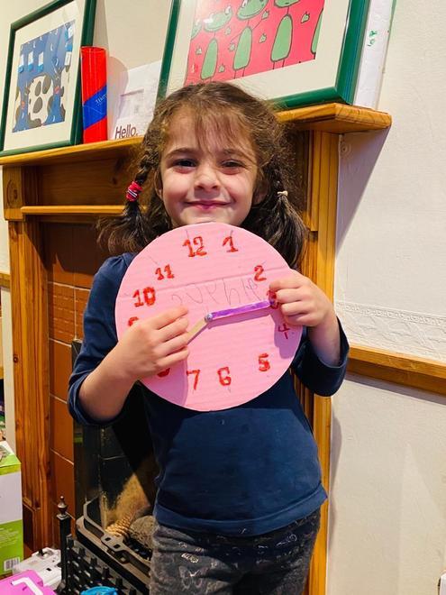 Sophie's clock