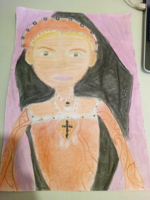 Minerva - Elizabeth I portrait
