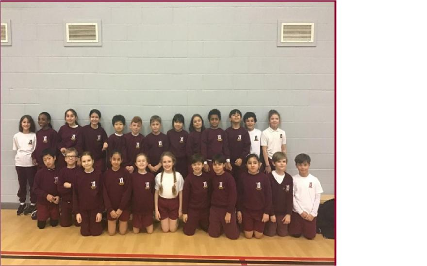 3rd for our Indoor athletics team