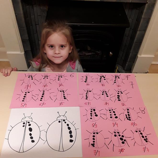Jagoda's ladybird maths
