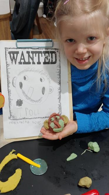 Laura's wanted poster