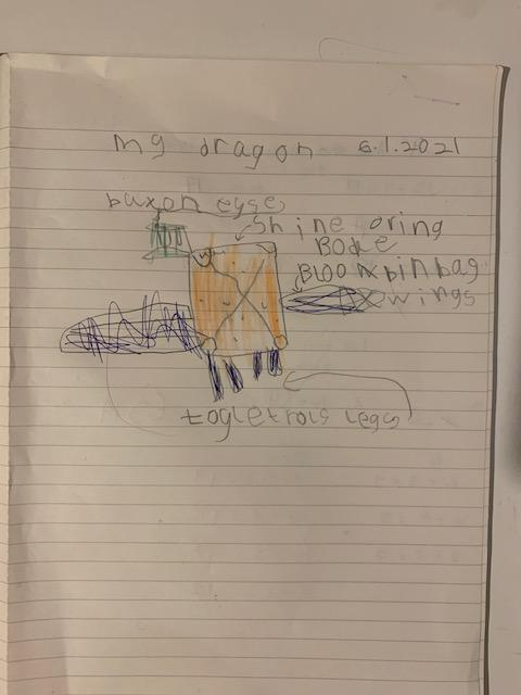 Mateo B's great dragon design