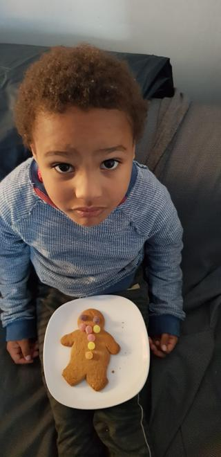 Elis' gingerbread man