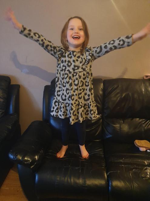 Grace's happy flying