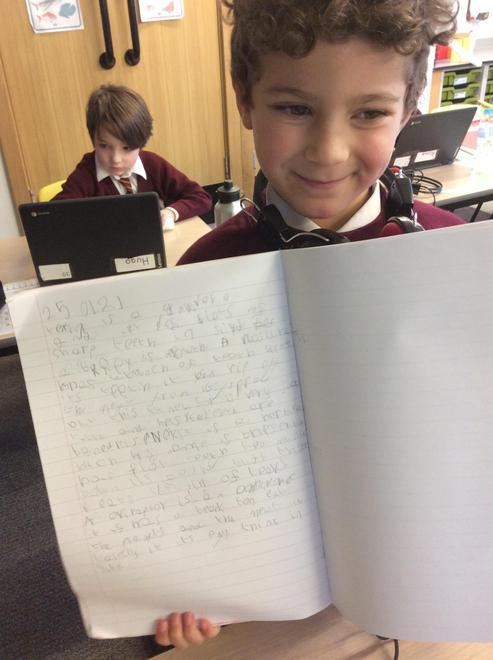 Thaddeus's fabulous topic work