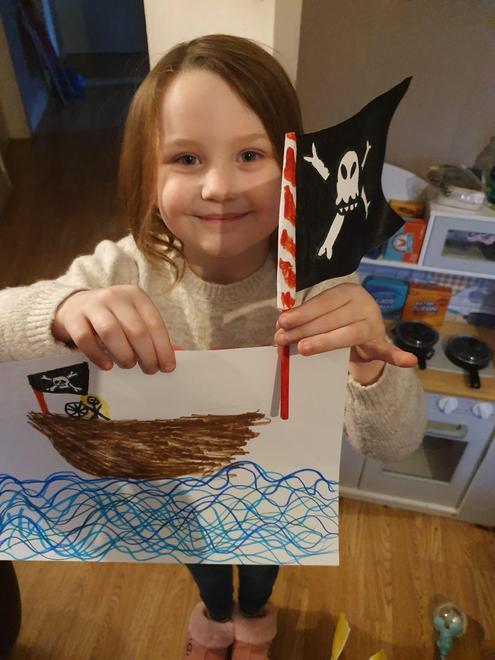 Grace - Mr Brown's pirate challenge