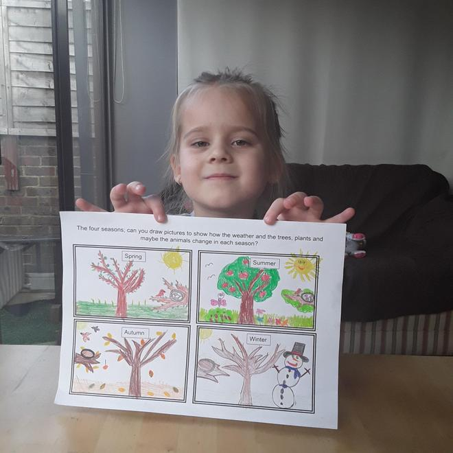 Jagoda's pictures of the seasons