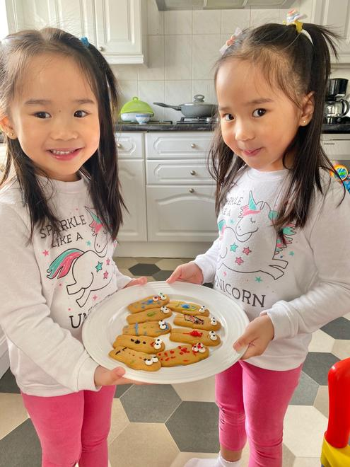 Chloe and Charlotte's Gingerbread men