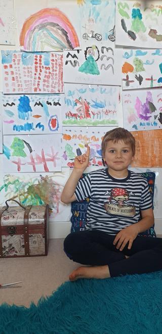 Maksim's mini art gallery
