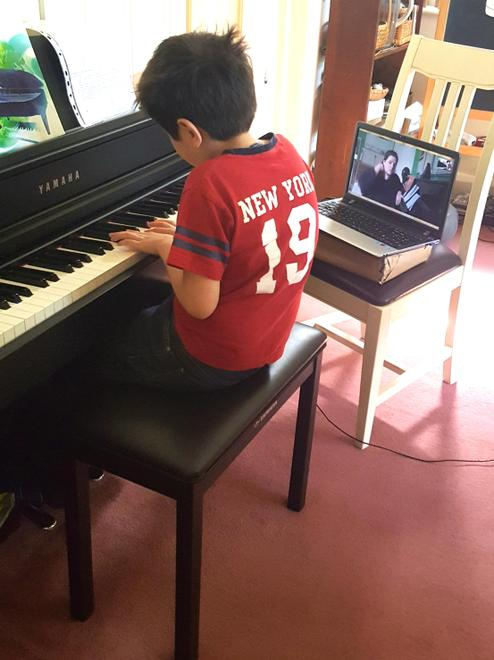 Aiden piano lessons