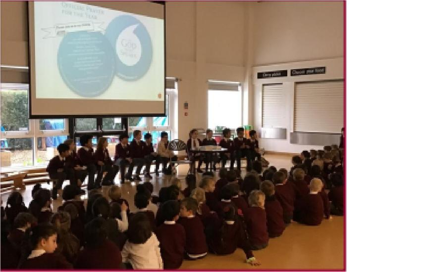 Year of the Word Assembly led by Chaplaincy Team