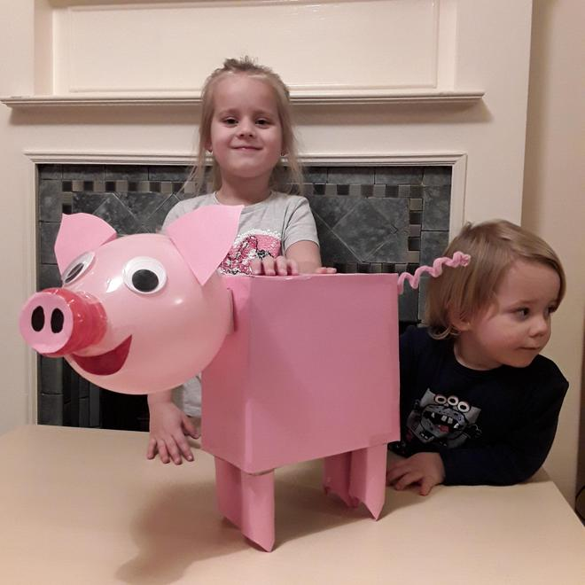 Jagoda's fabulous pig