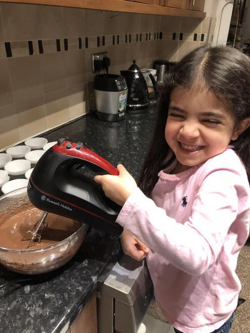 Rebecca baking