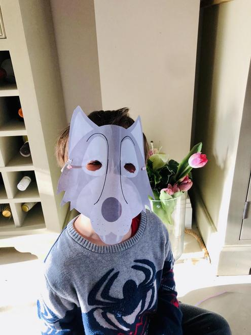 William's wolf mask