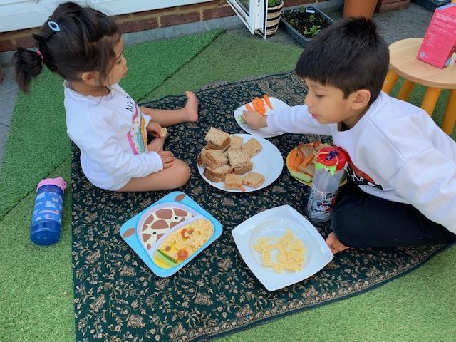 Mateo B's picnic