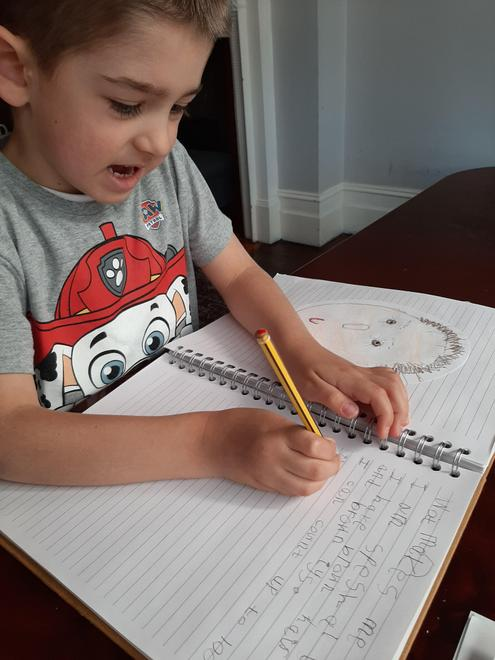 Stanley's 'I am special' writing