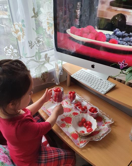 Goda exploring capacity using tomatoes