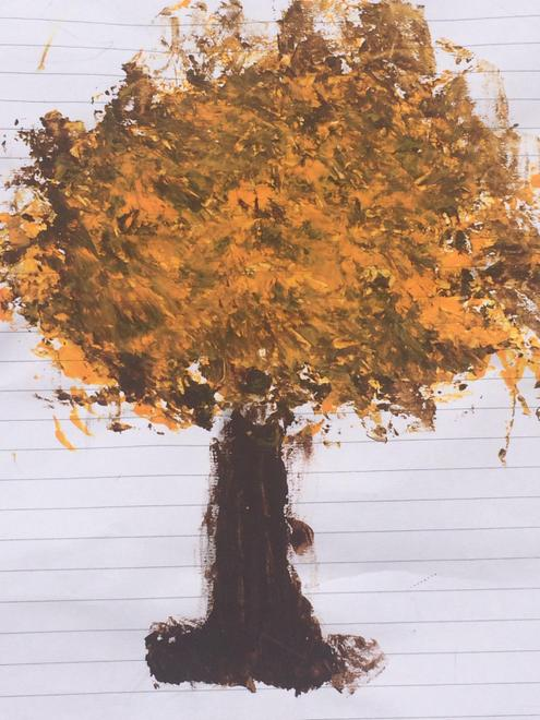 Laith Autumn trees artwork