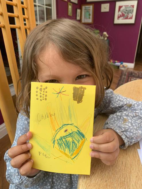 Ella O's Ugly duckling card 1