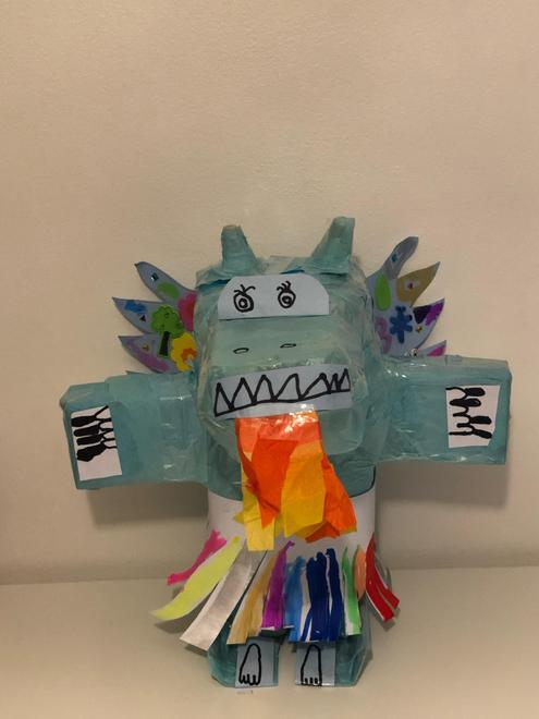 Ella's amazing dragon