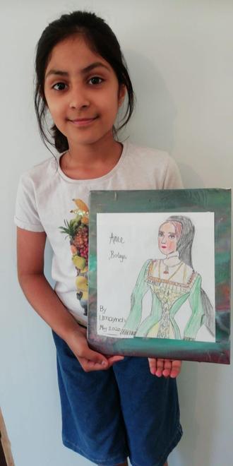 Umaynah's Tudor portrait