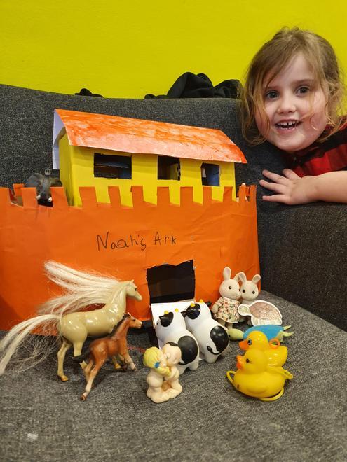 Julia's Ark and pairs of animals