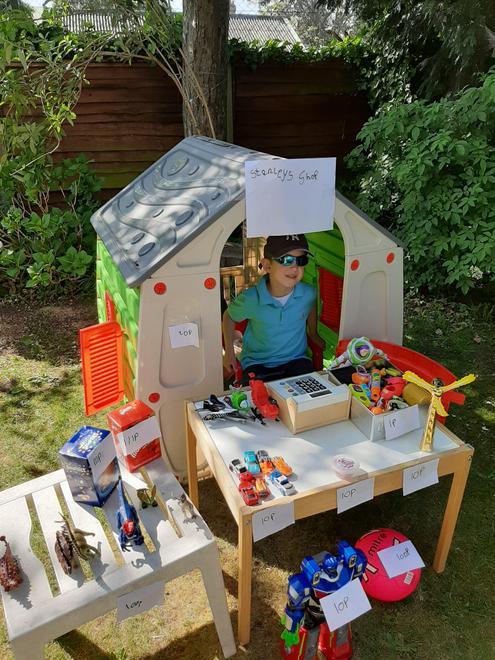 Stanley's amazing toy shop