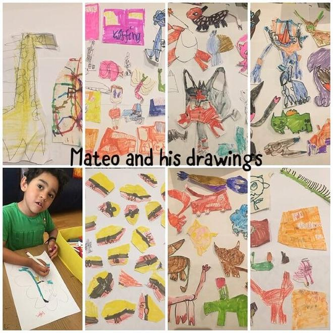 Mateo CR's amazing drawings