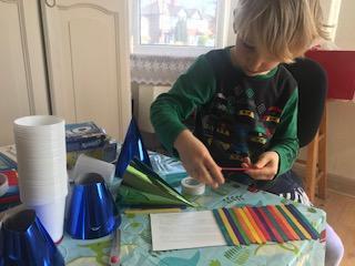 Alex making his bridge